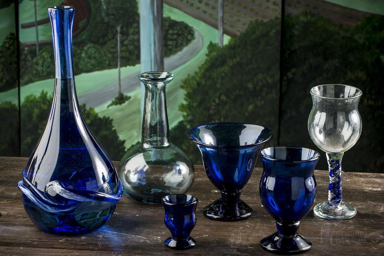 Bicchieri in vetro soffiato, matrimonio, Matrimoniocreativo.com