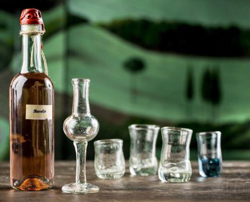 Bicchieri in vetro soffiato